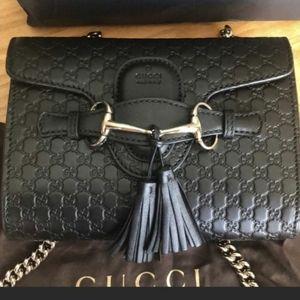 Classic emily bag microguccissima